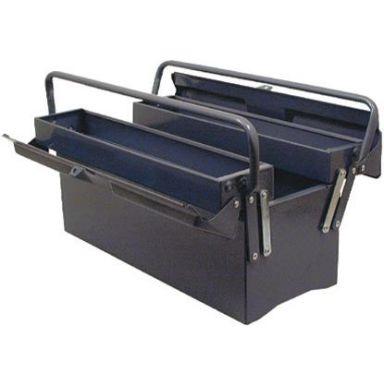 Z 530200160 Verktøykasse stålplate, blå