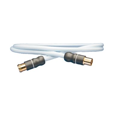 SUPRA 1001904760 Antennkablage 2 x IEC, hona/hane