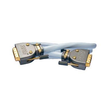 SUPRA 1001101185 Patchkabel 2 x DVI, hane/hane