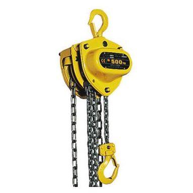 KITO Mighty 500/1 OLL Snabblyftblock med överbelastningsskydd, 3 m