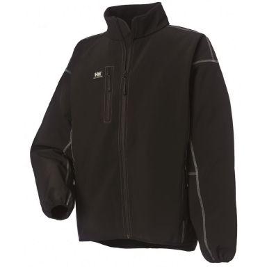 Helly Hansen Workwear Madrid Softshelljacka svart, polyester