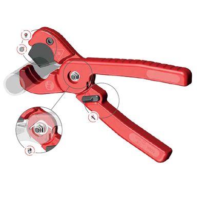 Ironside 100817 Plaströrklippare 22 mm rördiameter