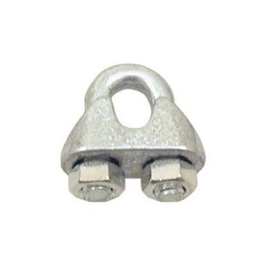 Gunnebo G00665140 Lin-/bygellås för 14 mm lina, galvaniserad, 20-pack