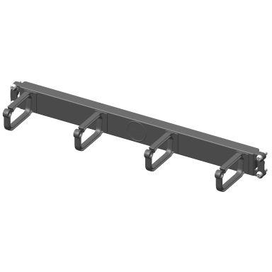 Enoc System 54811 Bygelpanel 44 x 485 x 96 mm, svart