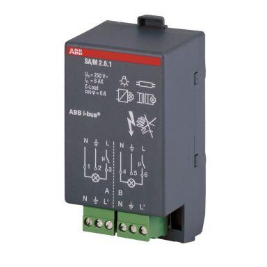ABB 2CDG110002R0011 Brytaktor 2-kanaler, KNX, 6 A
