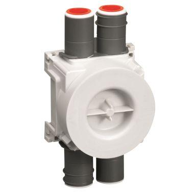 Schneider Electric IMT36001 Apparatdosa enkel/dubbel, 16/20 mm