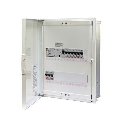 Garo NIM 28-2 Centralapparat 2 rader, 28 moduler