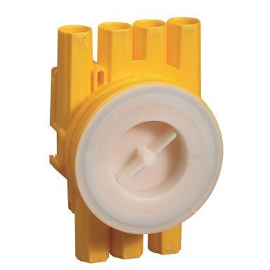 Schneider Electric TED-K26 IG Kytkentärasia kääntyvällä kiinnitysrenkaalla, 5 kpl pakkaus