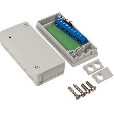 Alarmtech JB 50 Kopplingsdosa metall, 10-polig