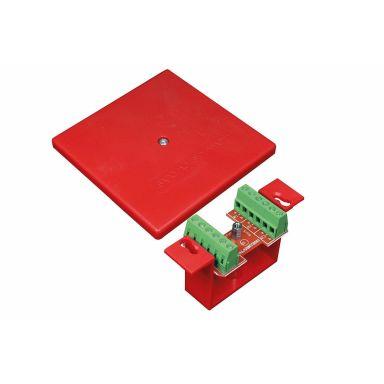 Alarmtech 61903.03R Larmbox 6 polpar, infälld
