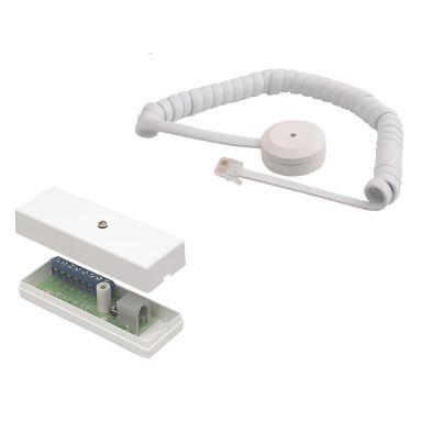 Alarmtech GD 375-SJ Glassknusedetektor med spiralkabel, 4-polet