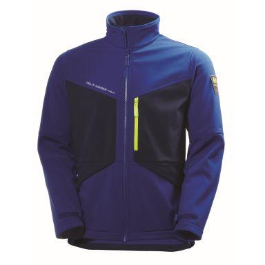 Helly Hansen Workwear Aker Softshelljakke blå