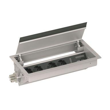 Schneider Electric INS40626 Möbelbox 4 uttag