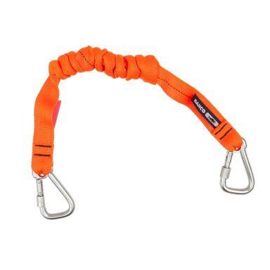 Bahco 3875-LY10 Sikkerhetsstropp oransje, med fastsydd karabinkrok
