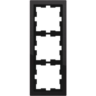 Schneider Electric MTN4030-6503 Yhdistelmäkehys 3 aukkoa, lasi