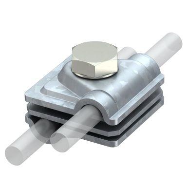 Obo Bettermann 5311410 Vario-klämma för anslutning av rundledare, 8 mm, 50 mm²
