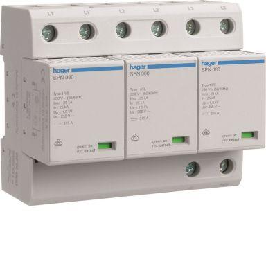 Hager SPN800 Overspenningsvern grovbeskyttelse