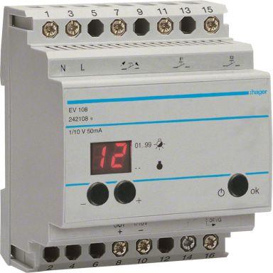 Hager EV108 Styrdon 50 Hz, 230V, 16 A
