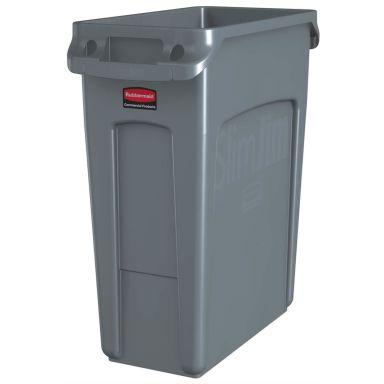Rubbermaid Slim Jim Avfallsbehållare 60 l, grå