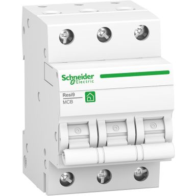 Schneider Electric Resi9 Dvärgbrytare 3-pol