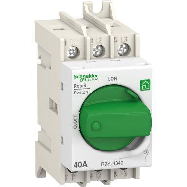 Schneider Electric Resi9 Huvudbrytare 3-polig