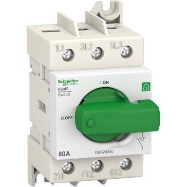 Schneider Electric Resi9 Pääkytkin 3-napainen