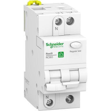 Schneider Electric Resi9 Personskyddsbrytare 2-polig, 10 A