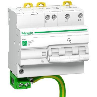 Schneider Electric R9L16710 Ylijännitesuoja Suojaksi epäsuorilta salamaniskuilta