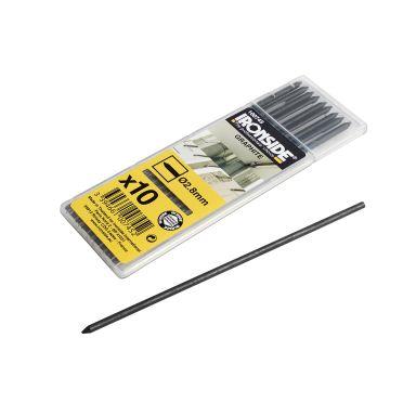 Ironside 100745 Merkestift 125 mm, grafittgrå, 10-pakning