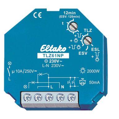 Eltako 61100102 Trappautomat 3- och 4-ledarskonfiguration