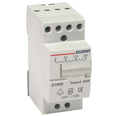 Eldon ETR88 Transformator 230V, för DIN-skena