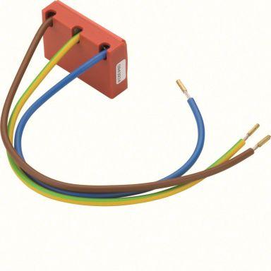 Hager EUS315 Finbeskyttelse 3 tilkoblinger