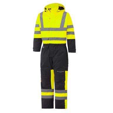 H/H Workwear Alta Overall varsel, gul/svart