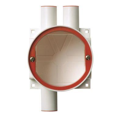 Elko 5510 Apparatboks hvit, 60 mm