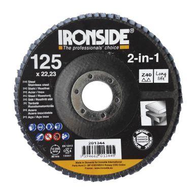 Ironside 201344 Lamellrondell 125 mm