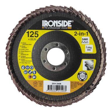 Ironside 201348 Lamellrondell vinklad