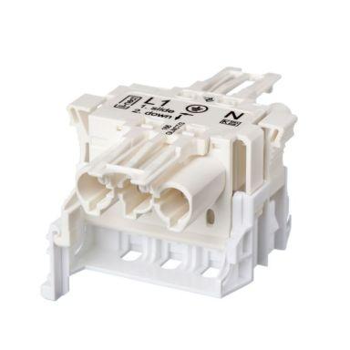 Gycom 128133 Hurtigkobling 3-polet, 20 A, 4 kV, 0,13 kWh