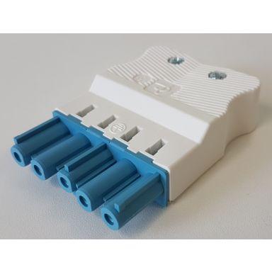 Gycom 128187 Hylsekontakt 5-polet, 20 A, 0,19 kWh, 4 kV, IP20