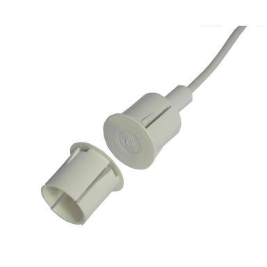 Alarmtech 5901508431110 Högsäkerhetskontakt 23 mm sensor, inbyggd