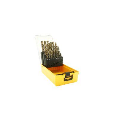 Ironside Pro 201271 Borrkassett 25 st. borrar, 1-13 mm