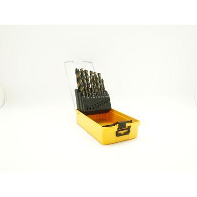 Ironside 201273 Borrkassett 25 st. borrar, 1-13 mm, 7-skärs