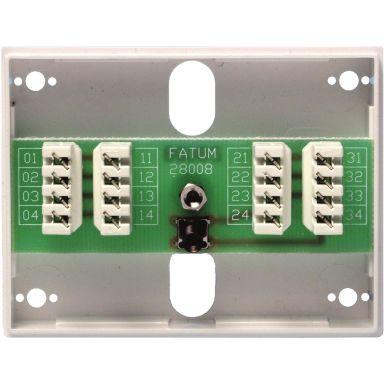Alarmtech Fatum Mini Larmbox 8-polig, med sabotagekontakt