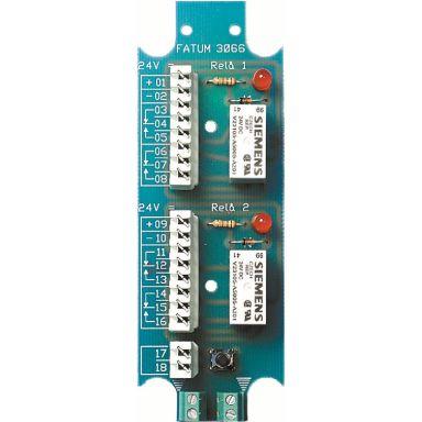 Alarmtech 3066.01 Reläplint 2 reläer, 24 V DC