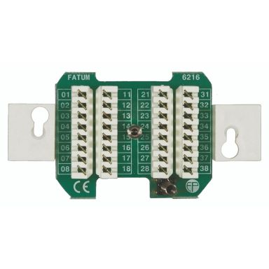 Alarmtech Fatum Infälld Larmbox 16 par, med sabotagekontakt
