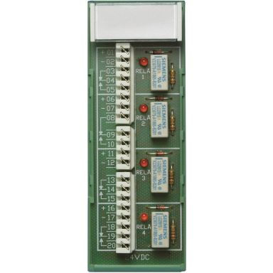Alarmtech 8169.01 Reläplint 24 V, 40 x 39 x 112 mm