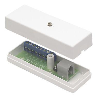 Alarmtech JB 103-4 Kopplingsdosa med 8 skruvplintar