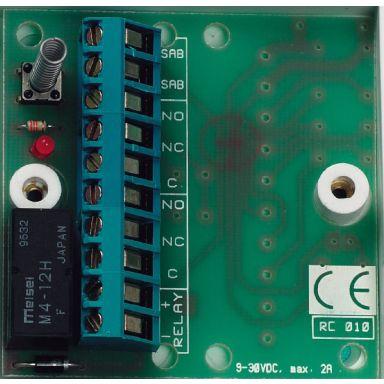 Alarmtech RC 010 Relekortti 1 x 2-napainen, vaihtava