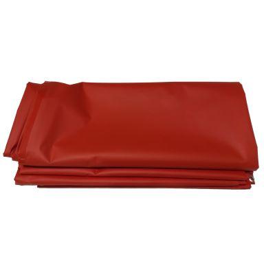 Z PVC Proffs Presenning röd, 6x4 m