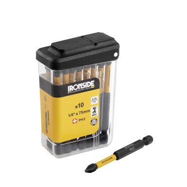 Ironside 201367 Kraftbits 10-pakning, 75 mm torx