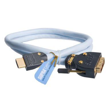 SUPRA 1001101326 HDMI-kabel HDMI x DVI, High Speed